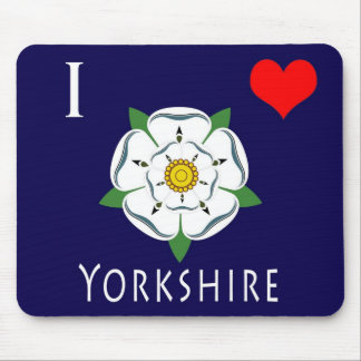 I love Yorkshire Mouse Mat