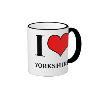 I Love Yorkshire Mug