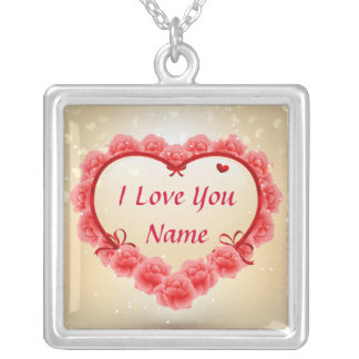 I Love You 3 Necklace