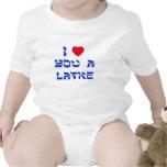 I Love You a Latke Bodysuits