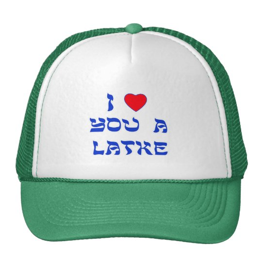 I Love You a Latke Cap