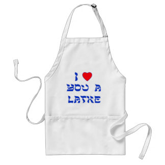 I love you a Latke Standard Apron