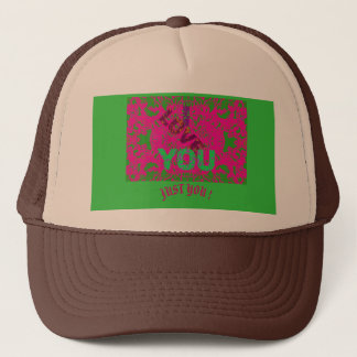 I LOVE YOU A Trucker Hat