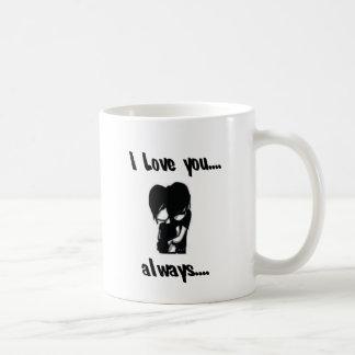 I Love You...Always Basic White Mug
