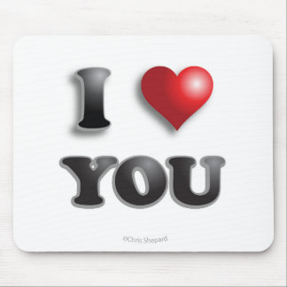 I LOVE YOU Anti Microagression Positive Good Happy Mouse Mat