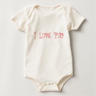 I Love You Baby Bodysuit