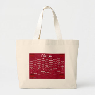 I Love You Canvas Bags