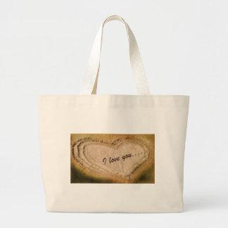 I love you... tote bags