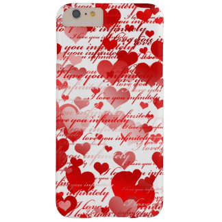 I love you barely there iPhone 6 plus case