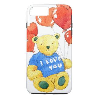 I love you bear - balloon 2011 iPhone 8 plus/7 plus case