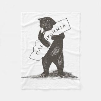 I Love You California Fleece Blanket