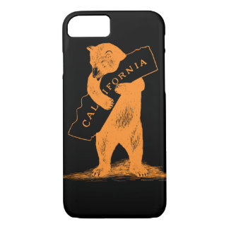 I Love You California--Orange and Black iPhone 8/7 Case