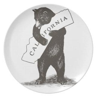 I Love You California Plate