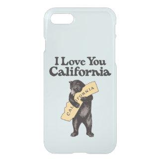 I Love You, California Vintage Illustration iPhone 7 Case