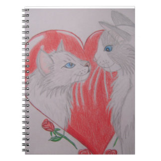 I Love You Cats Spiral Notebook