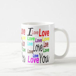 I Love You Classic White Mug