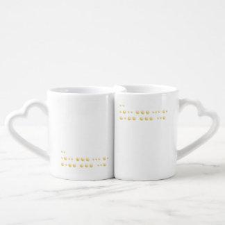 """""""I love you"""" Coffee Mug Set"""