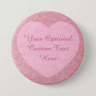 """I LOVE YOU"" custom button"