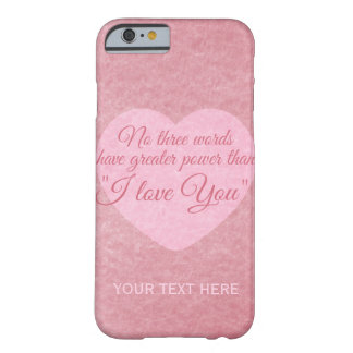 """I LOVE YOU"" custom cases"