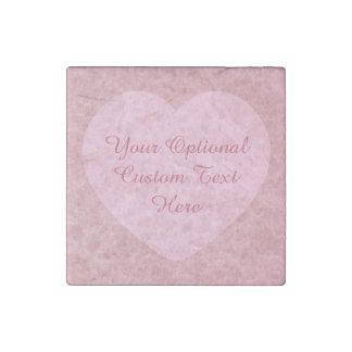 """I LOVE YOU"" custom marble magnet"