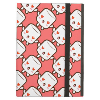 """I love YOU!"" cute marshmallow iPad Air Covers"