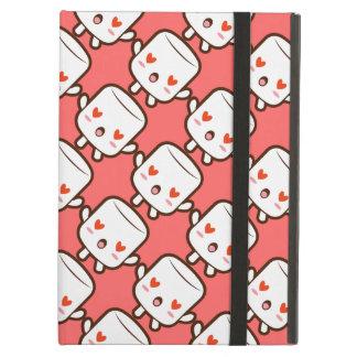 """I love YOU!"" cute marshmallow iPad Air Covers"