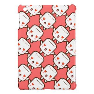 """""""I love YOU!"""" cute marshmallow iPad Mini Cover"""