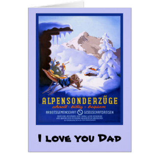 I love you Dad, 1 Greeting Cards