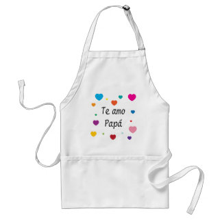 I Love You Dad Aprons