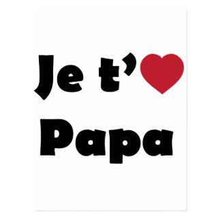 I Love You Dad Postcards