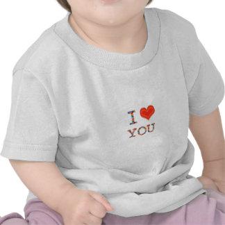 I LOVE YOU Elegant Script of Love n Romance GIFT Tshirts