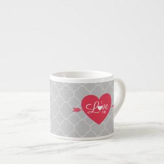 I Love You Espresso Mug