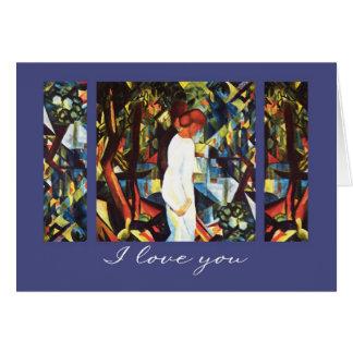 I Love You. Fine Art Valentine's Day Cards