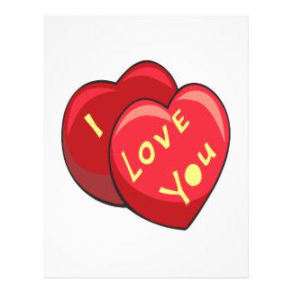 I Love You Flyer