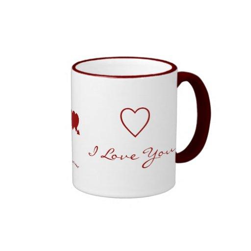 I Love You - Forever and Always - Mug