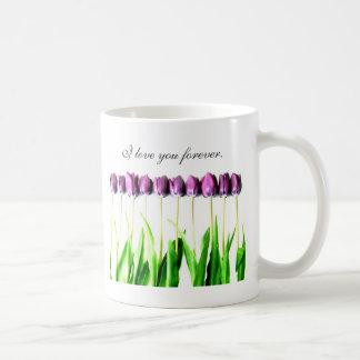 I love you forever. basic white mug