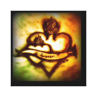 I love you forever canvas prints