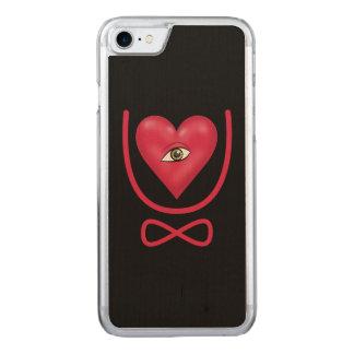 I love you forever Eye heart U eternity Carved iPhone 8/7 Case