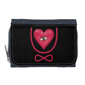 I love you forever Eye heart U eternity Wallet