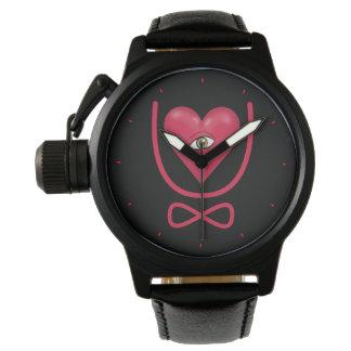 I love you forever Eye heart U eternity Wrist Watch