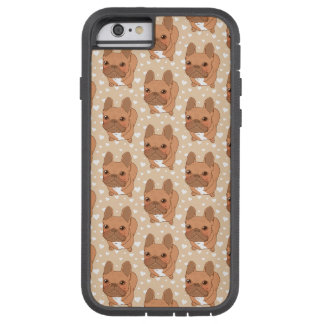 I Love You Frenchie Tough Xtreme iPhone 6 Case