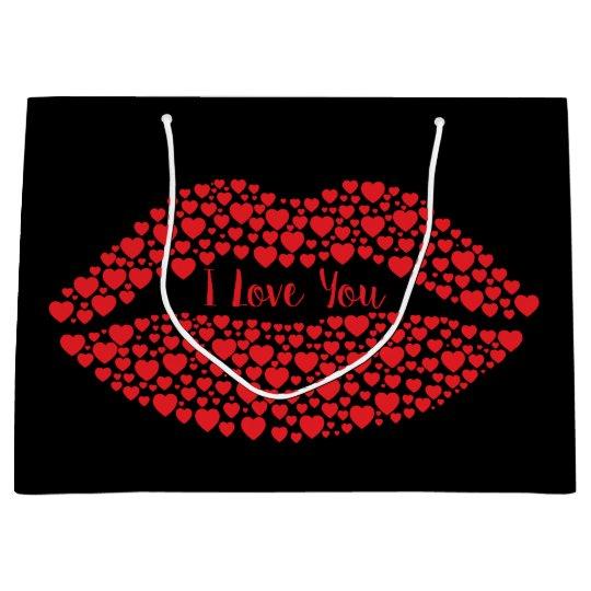 I Love You Gift Bag - Large