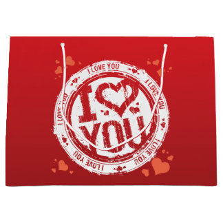 I Love You Gift Bag Large