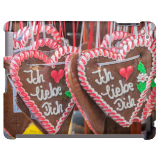 I Love You Gingerbread Hearts At The Holiday iPad Case