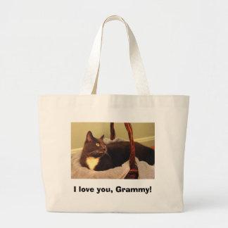 I love you, Grammy! Large Tote Bag