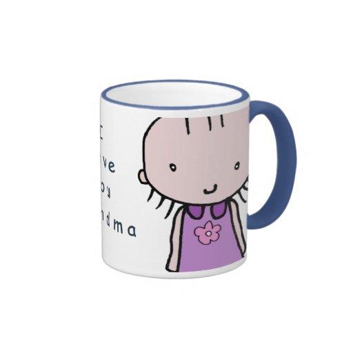 I Love You Grandma Mug