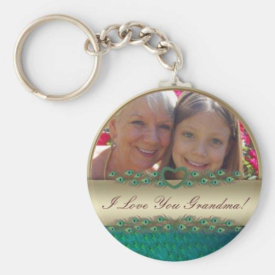 I love you Grandma photo frame & text