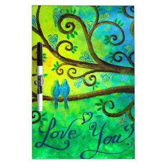 I Love You Hearts by Jan Marvin Dry Erase Whiteboards