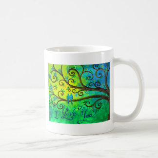 I Love You Hearts by Jan Marvin Classic White Coffee Mug