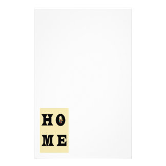 I LOVE YOU HOME PERSONALISED STATIONERY
